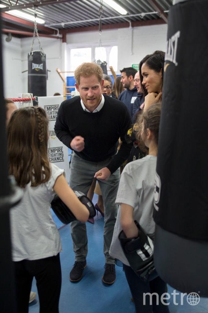 Принц Гарри давно занимается боксом. Фото Getty