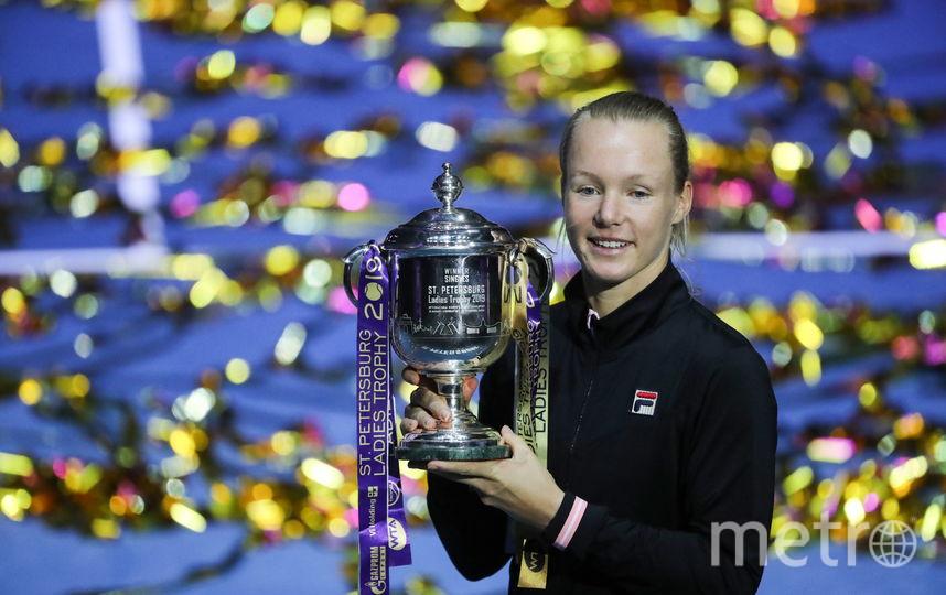 Голландская теннисистка Кики Бертенс. Фото Getty