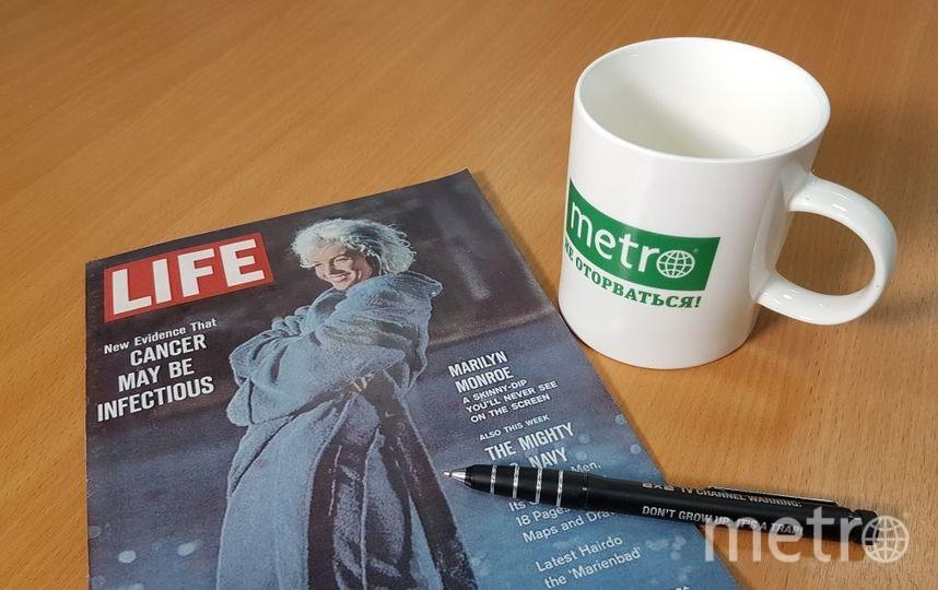 Тот самый журнал, который напугал мир новостью о том, что рак заразен. Фото Василий Кузьмичёнок