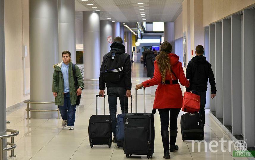 Температура воздуха в районе аэропорта опустилась до минус 43 градусов. Фото Василий Кузьмичёнок