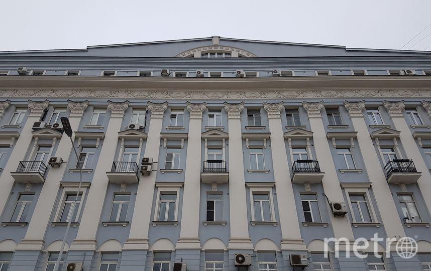Жилой дом на Никитской улице, где произошёл пожар. Фото Василий Кузьмичёнок