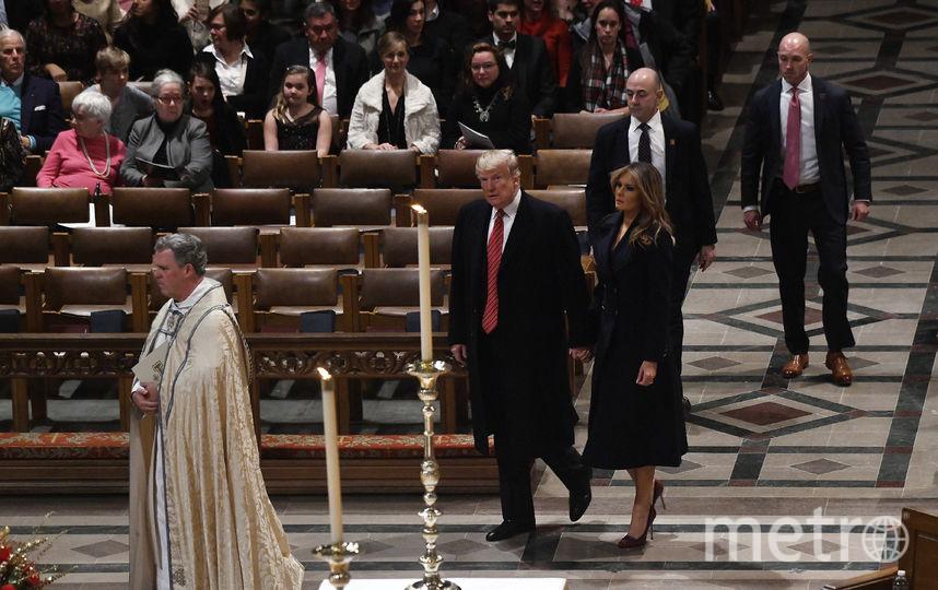 Дональд и Мелания Трамп, фотоархив 2018 года. Фото Getty