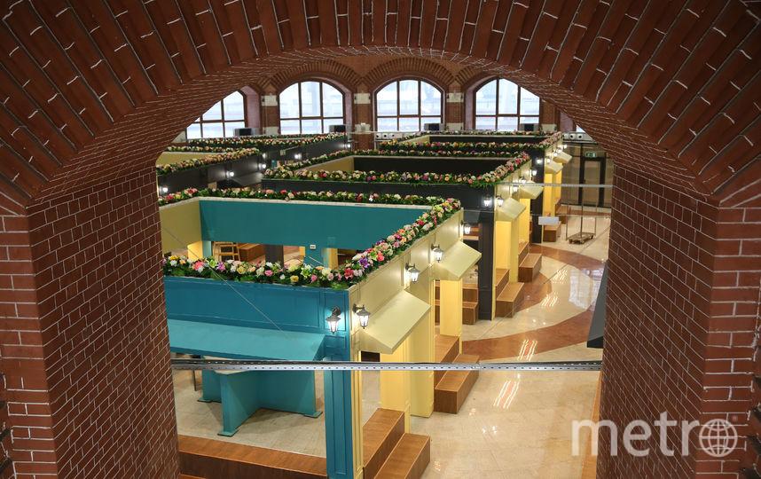 Вид на книжный клуб со второго этажа. Фото предоставлено ООО «РПСК»