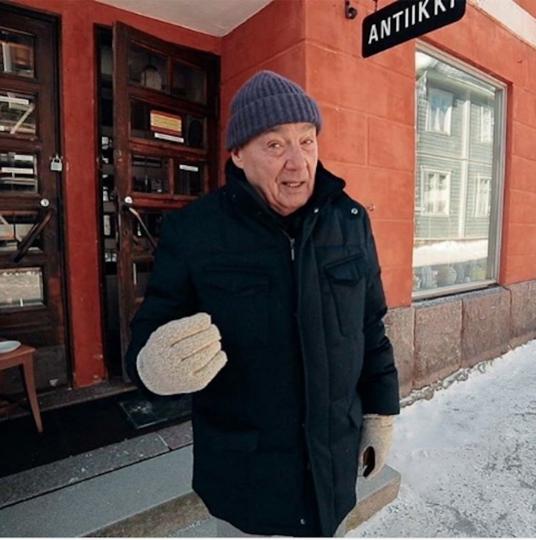 Телеведущий Владимир Познер. Фото www.instagram.com/xenia_sobchak