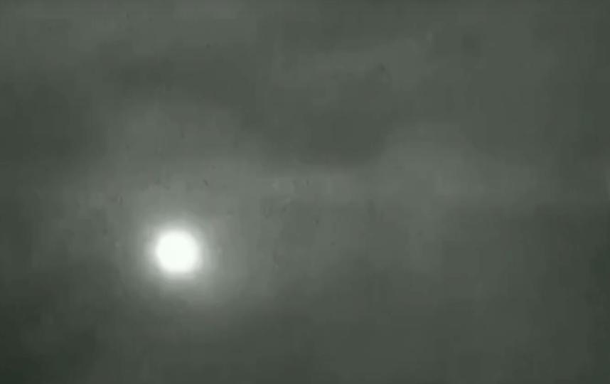 Падение метеорита под Новороссийском. Фото Скриншот/Вести Сочи, Скриншот Youtube