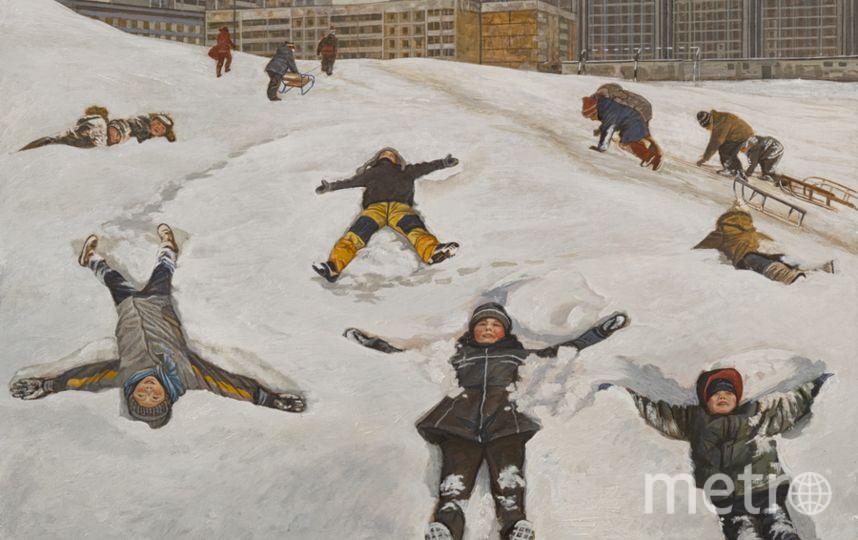 Снег переносил в другой мир. Фото предоставлено Марией Сафроновой