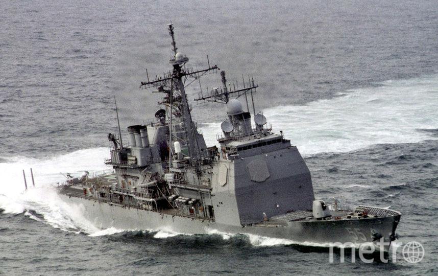 Крейсер Leyte Gulf, ВМС США. Фото Getty