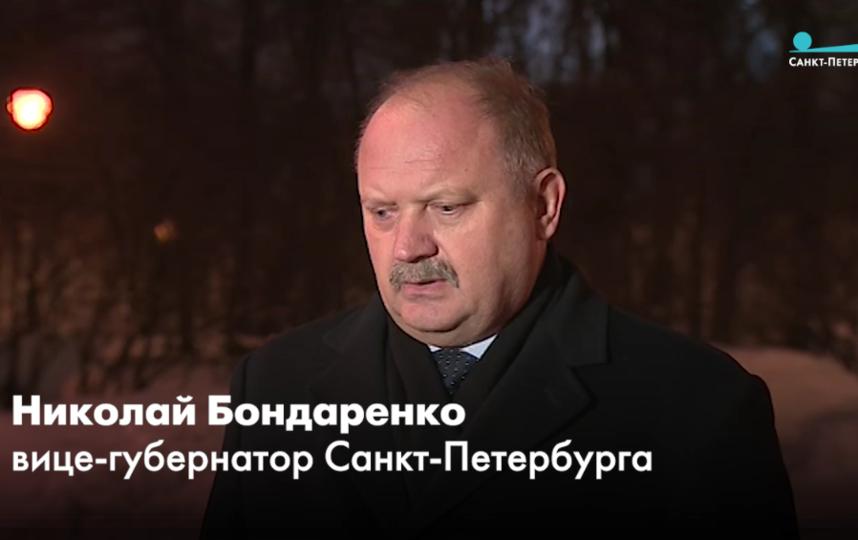 "Николай Бондаренко. Фото Телеканал ""Санкт-Петербург""/скриншот"