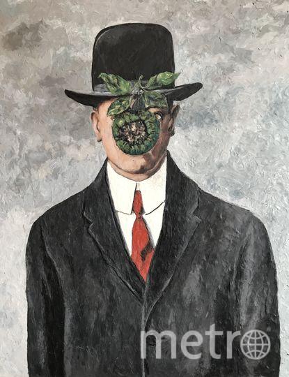 """Рене Магрит """"Сын человеческий"""", пластилиновый вариант. Фото предоставила Катерина Нежурина"""