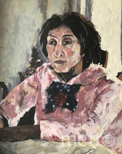 """Серов, """"Девочка с персиками"""", пластилиновый вариант. Фото предоставила Катерина Нежурина"""