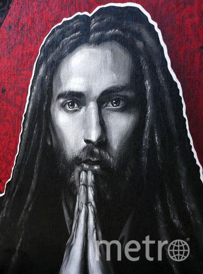 Граффити, посвящённое Кириллу Толмачкому. Сочи. Фото Getty