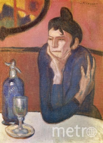 """Пабло Пикассо, любительница абсента"""", оригинал. Фото РИА Новости"""