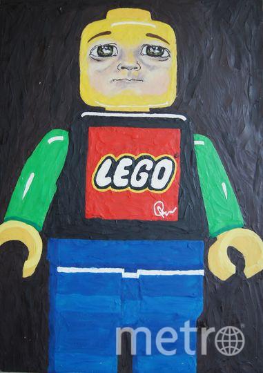"""Легочеловечек"", картина из пластилина, Катерина Нежурина. Фото предоставила Катерина Нежурина"
