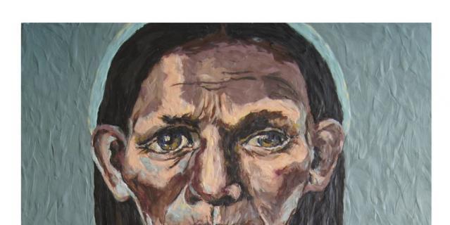 """Мать"", картина из пластилина, Катерина Нежурина."