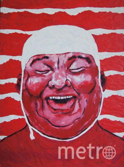 """""""Шапочка для купания"""", картина из пластилина, Катерина Нежурина. Фото предоставила Катерина Нежурина"""