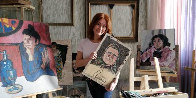 Катерина Нежурина и её картины.