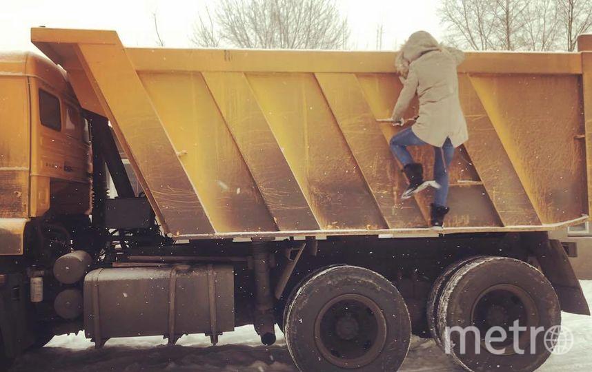 Татьяна и её грузовик. Фото Скриншот Instagram/tatiana_kamazistka