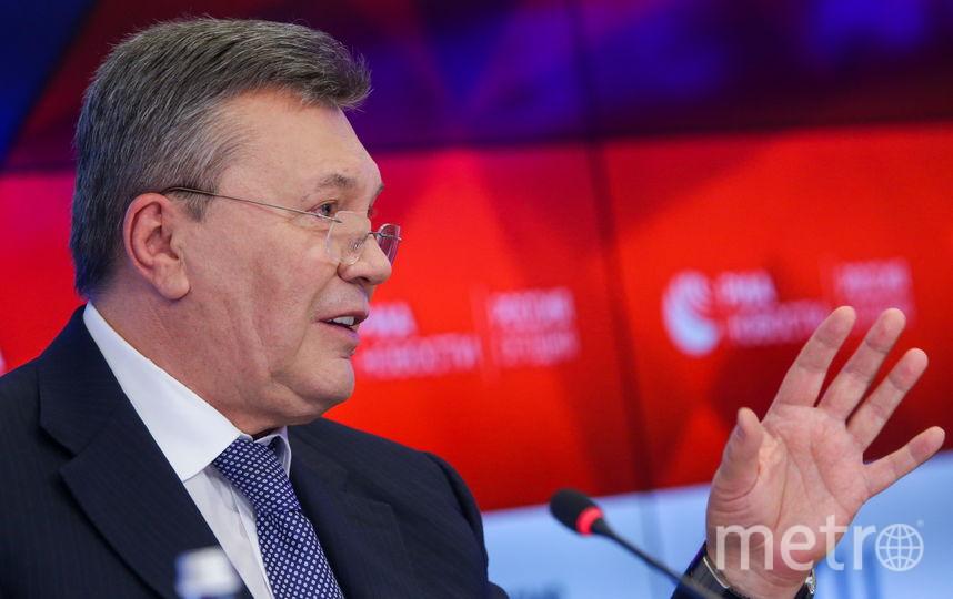 Экс-президент Украины Виктор Янукович. Фото Getty