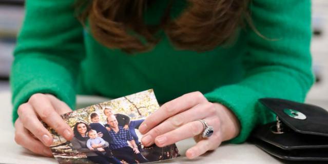 На вопрос, что делает Кэтрин счастливой, она показала фото.