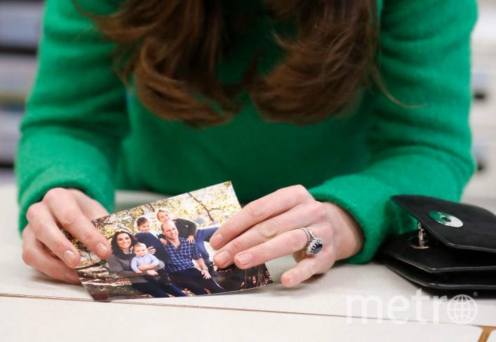 На вопрос, что делает Кэтрин счастливой, она показала фото. Фото Getty