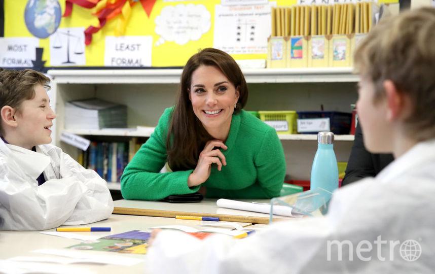 Визит Кейт Миддлтон в начальную школу Лаванды в Энфилде. Фото Getty