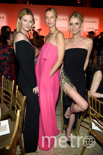 Шарлотта Корде, Каролина Куркова, Ники Хилтон-Ротшильд. Фото Getty