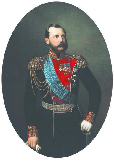 Портрет императора Александра II. Иван Тюрин. 2-я пол. 1860-х гг. Фото предоставлено Историческим музеем