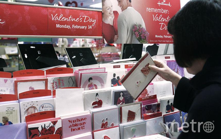 День святого Валентина. Фото Getty