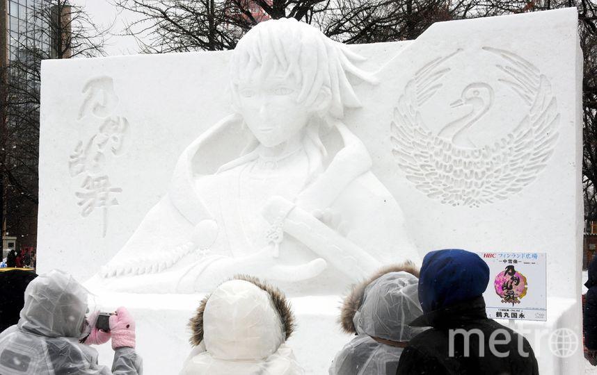 Фестиваль ледовых скульптур в Саппоро. Фото Getty