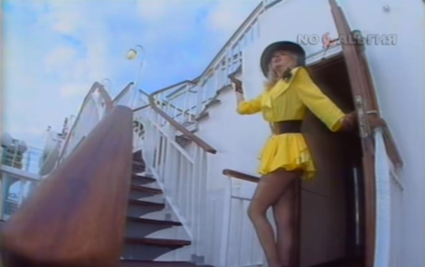 Маша Распутина в молодости. Фото Скриншот Youtube