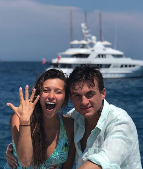 Регина Тодоренко и Влад Топалов. Фото www.instagram.com/vladtopalovofficial