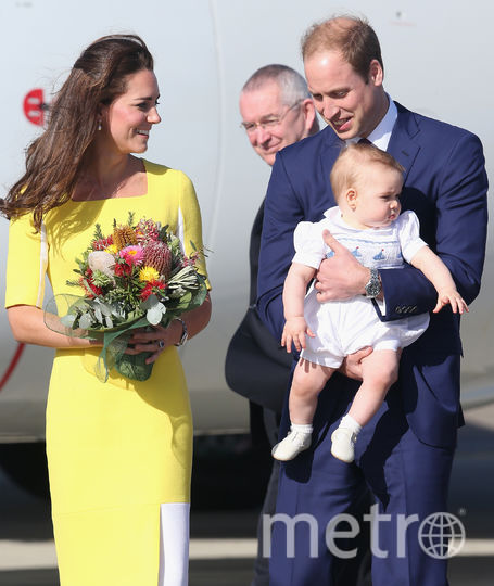 Члены королевской семьи Великобритании. Фото Getty