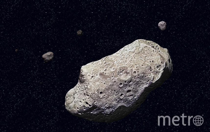 Астероид. Фото Getty