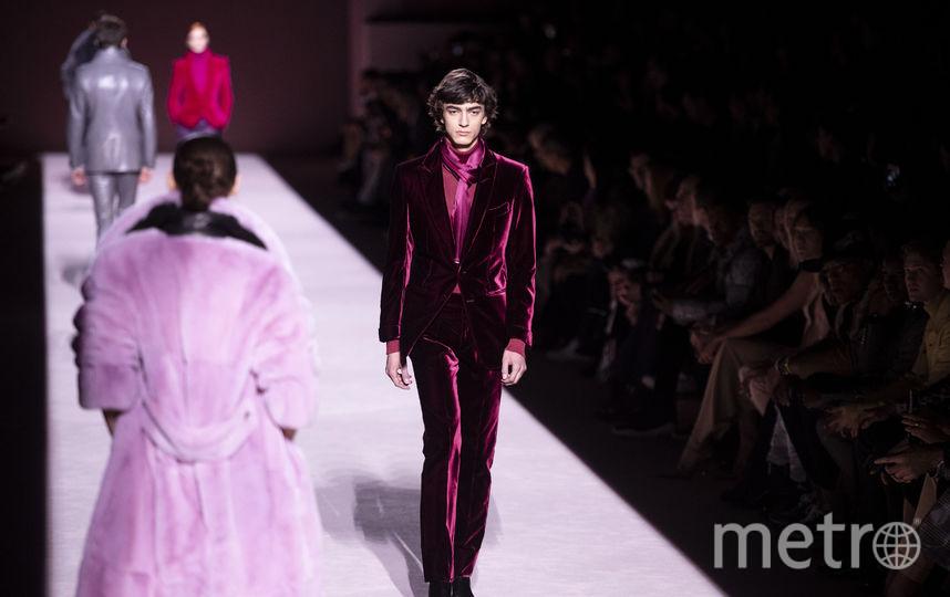 Показ Тома Форда на Неделе моды в Нью-Йорке. Фото AFP