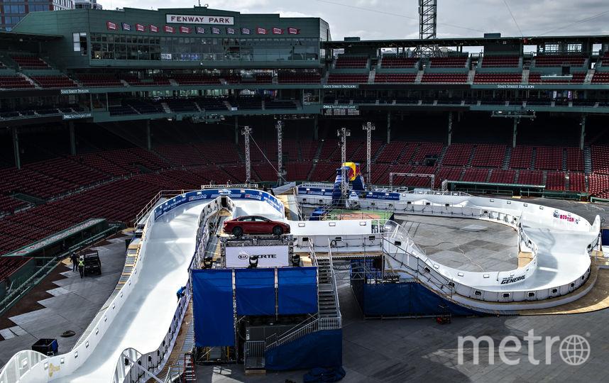 Райдеры будут соревноваться на бейсбольном стадионе Фенуэй Парк. Фото https://www.redbullcontentpool.com