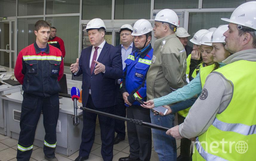 По приглашению руководства СГК Анатолий Локоть также посетил Новосибирскую ТЭЦ-5. Фото СГК