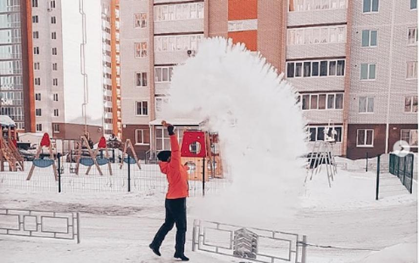 Участник #дубакчеллендж. Фото instagram/viktoriya_buzulina