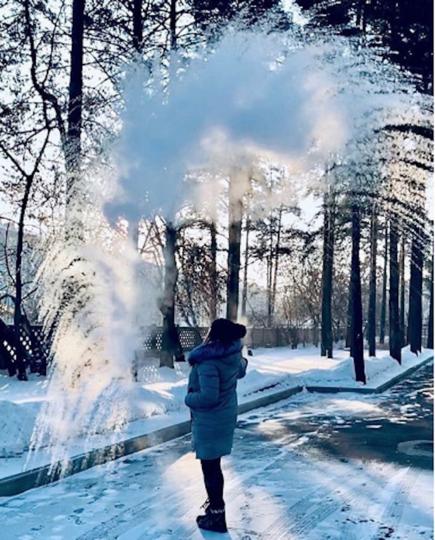 Участник #дубакчеллендж. Фото instagram/katerina_novikova_92