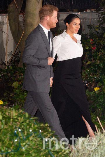 Прин Гарри и Меган Маркл на вручении премии. Фото Getty