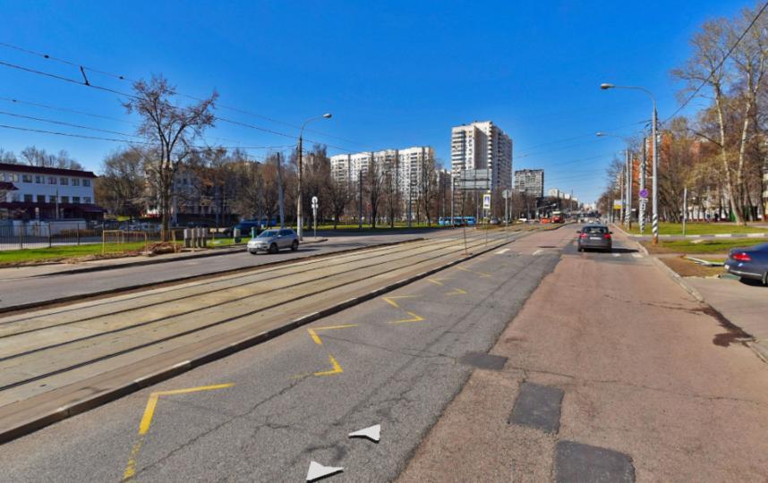 Симферопольский бульвар. Фото Яндекс.Панорамы