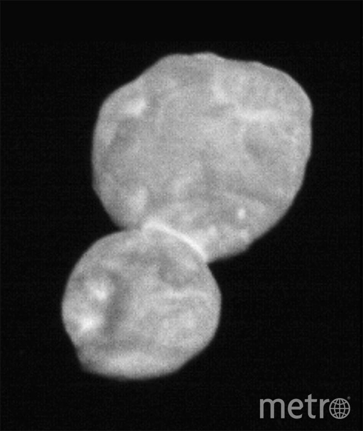 Астероид Ultima Thule. Фото Getty