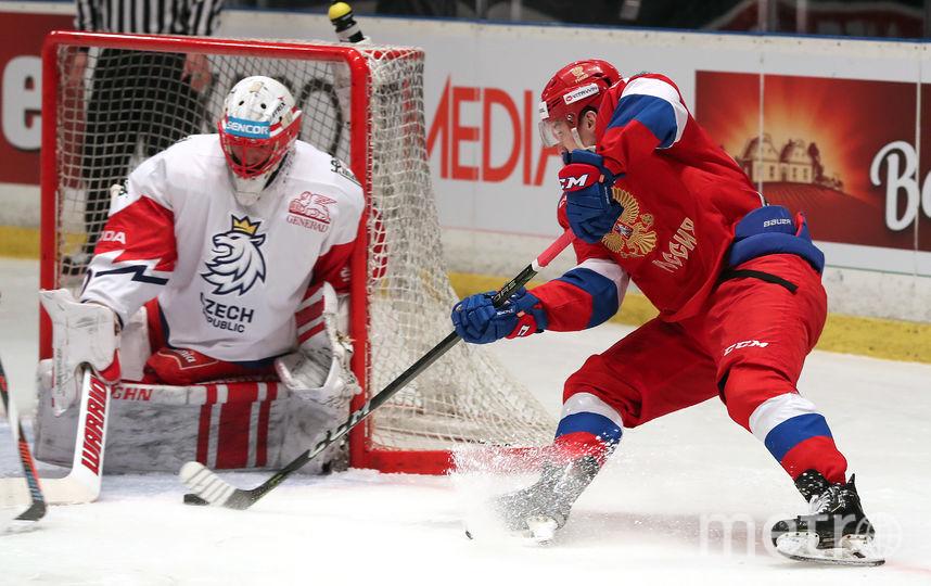 Поражение россиянам не помешало чехам выиграть этап. Фото photo.khl.ru