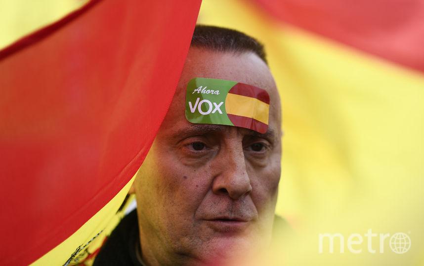 Митинг в Мадриде. Фото AFP
