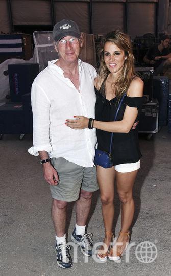 Алехандра Сильва и Ричард Гир. Фото Getty