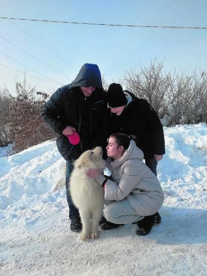 Семья Сапрыкиных снова в полном составе. Фото Анна Сапрыкина, vk.com
