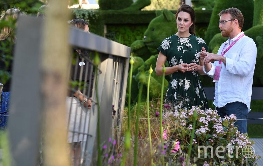 Герцогиня осмотрела сад в мае 2017-го. Фото Getty