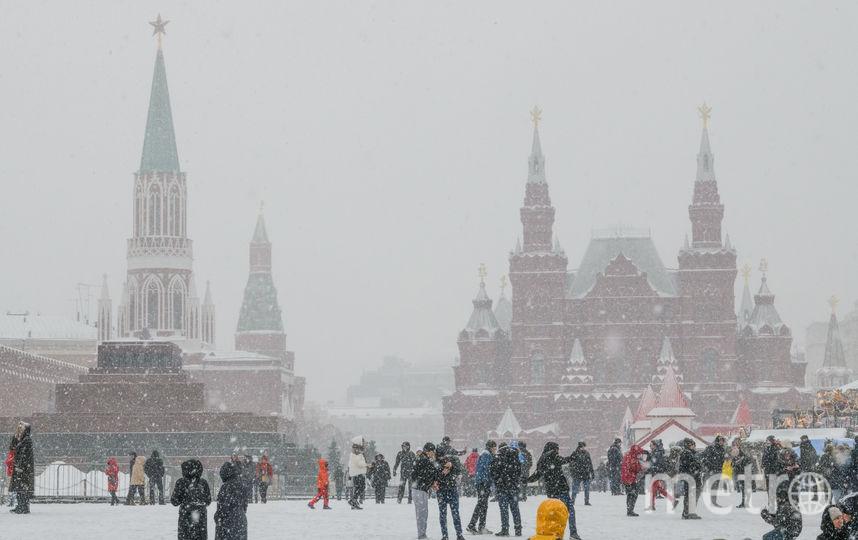 Мокрый снег и небольшие моросящие дожди ожидаются в Москве в самом начале рабочей недели. Фото AFP