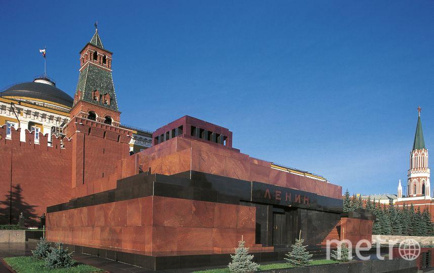 Мавзолей имени В.И.Ленина на Красной площади в Москве. Фото Getty