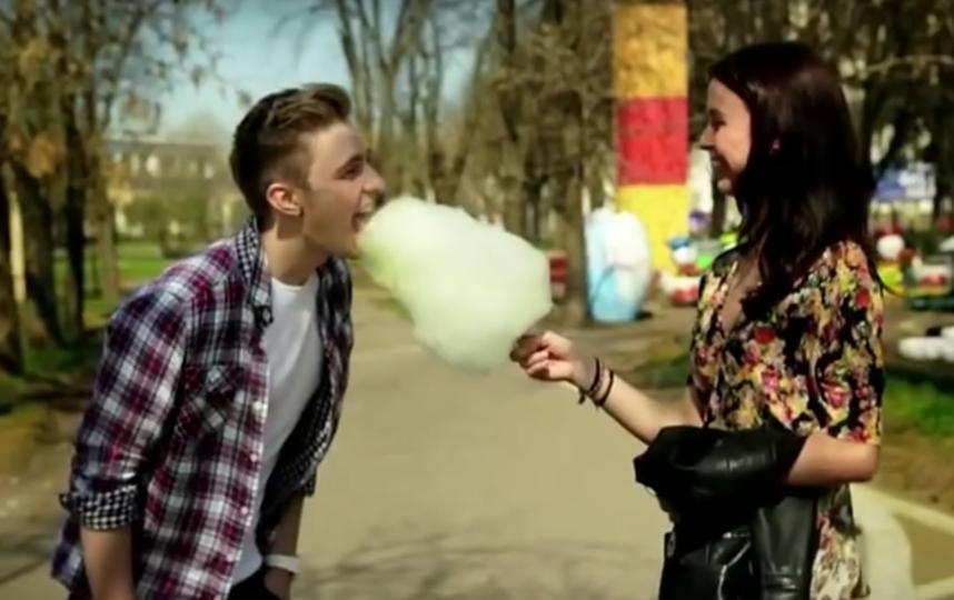 Мирослава Карпович в клипе Егора Крида. Фото Все - скриншот YouTube