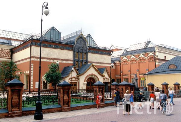 Здание Третьяковской галереи. Фото РИА Новости